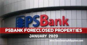 339 PSBank Foreclosed Properties for sale as of January 2020