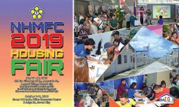365 NHMFC foreclosed properties available in Davao Housing Fair on October 7-11, 2019