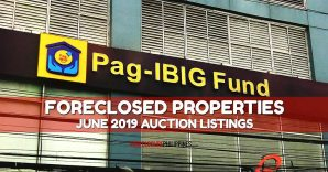 (2nd update) 506 Pag-IBIG foreclosed properties for auction in June 2019
