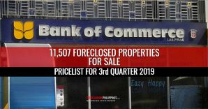 11,507 Bank of Commerce Foreclosed Properties in Q3-2019 Pricelists