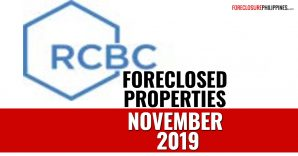 222 RCBC foreclosed properties for sale as of November 21, 2019