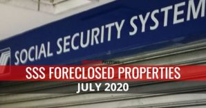 91 SSS Foreclosed Properties for sale as of July 2020