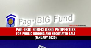 [5th update] 2,832 Pag-IBIG foreclosed properties for sale in January 2020 (Public Auction and Negotiated Sale)