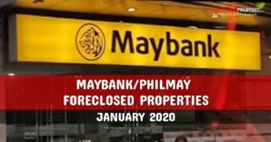 342 Maybank Foreclosed Properties in January 2020 nationwide listings
