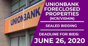 Sealed Bidding For 632 Unionbank Foreclosed Properties Slated On June 26, 2020
