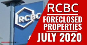 235 RCBC foreclosed properties for sale as of July 2020