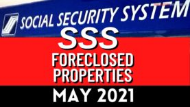 71 SSS Foreclosed Properties for sale as of May 2021