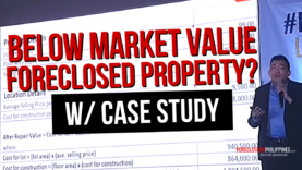 How to find foreclosed properties with good property values (After Repair Value case study)