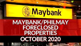 353 Maybank Foreclosed Properties in October 21, 2020 Nationwide Listings