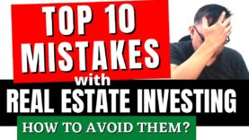 Top 10 Mistakes when Buying Foreclosed Properties/Real Estate | Real Estate Investing for Beginners
