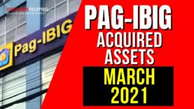 1,201 Pag-IBIG Foreclosed Properties in March 2021 Listings/Schedules