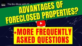 [Video] What are the advantages with investing in foreclosed properties (and other frequently asked questions)