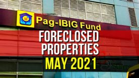 1,398 Pag-IBIG Foreclosed Properties for sale in May 2021