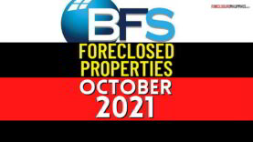 BFS Foreclosed Properties: October 2021 Nationwide Listing (1,009 for negotiated sale)